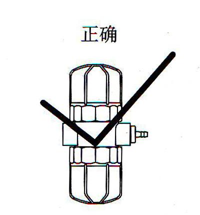 气动排水器的正确安装方法